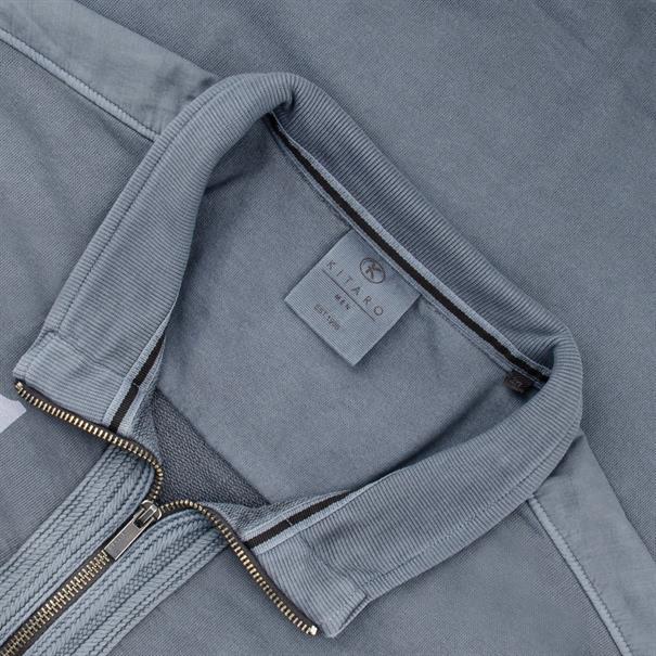 KITARO Sweatjacke blau