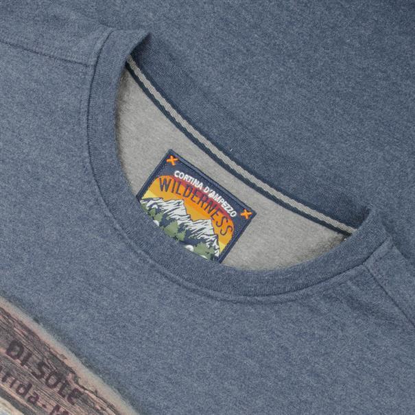 KITARO Sweatshirt blau