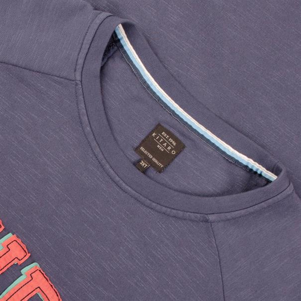 KITARO Sweatshirt - EXTRA lang blau