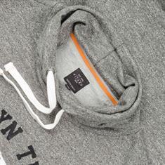 KITARO Sweatshirt - EXTRA langer Arm grau
