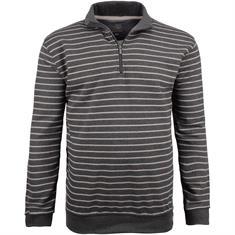 KITARO Sweatshirt grau-meliert