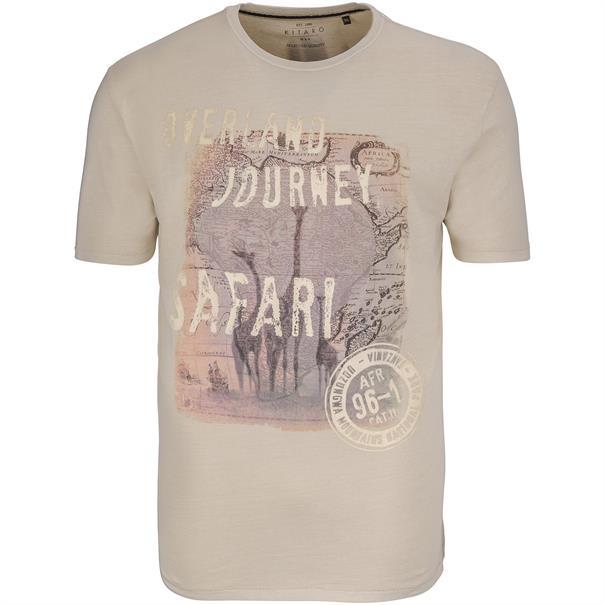 KITARO T-Shirt beige