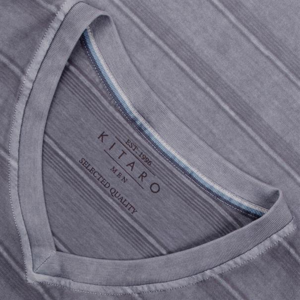 KITARO T-Shirt blau