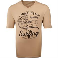 KITARO T-Shirt braun