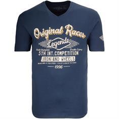 KITARO T-Shirt dunkelblau