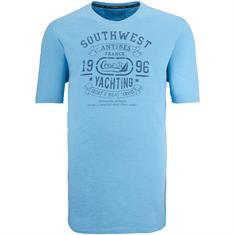 KITARO T-Shirt EXTRA lang blau