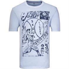 KITARO T-Shirt hellblau