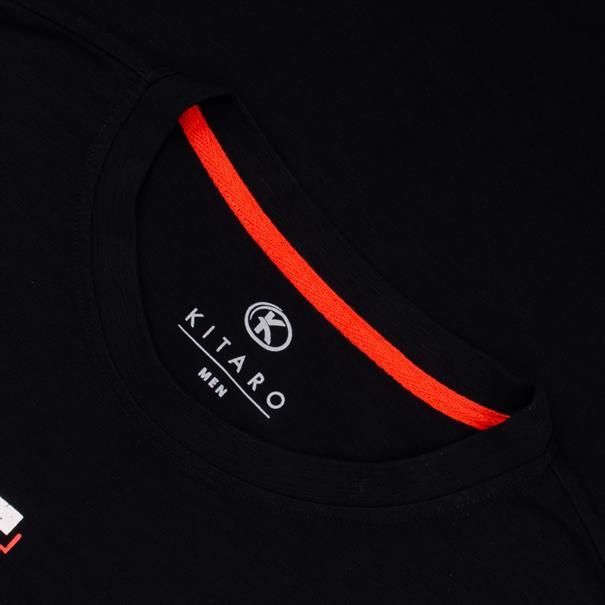 KITARO T-Shirt schwarz