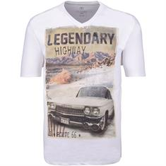 KITARO T-Shirt weiß