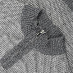 KITARO Zipper-Pulli grau