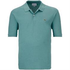 LACOSTE Poloshirt grün-meliert