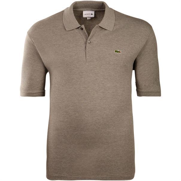LACOSTE Poloshirt grau-meliert