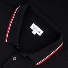 LACOSTE Poloshirt schwarz