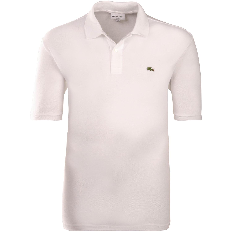 online retailer 44221 6f2d3 LACOSTE Poloshirt weiß
