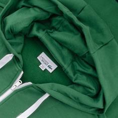 LACOSTE Sweatjacke grün