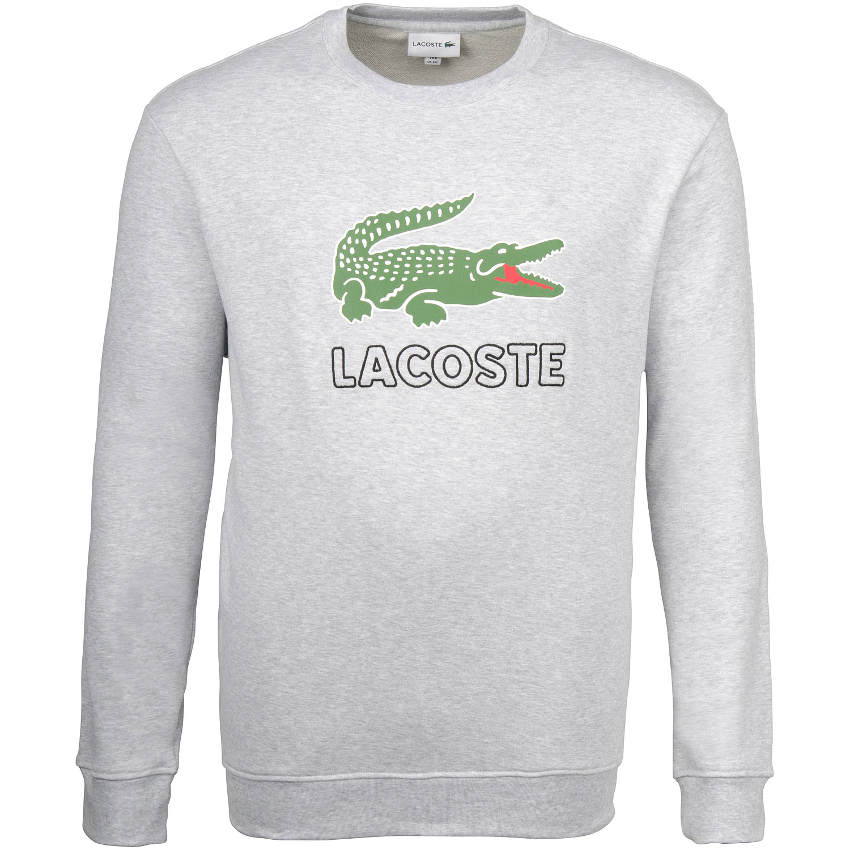 buy online 56ed1 fc105 LACOSTE Sweatshirt grau-meliert