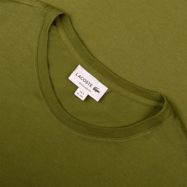 LACOSTE T-Shirt oliv