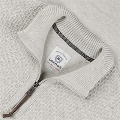 LERROS Zipper-Pullover beige