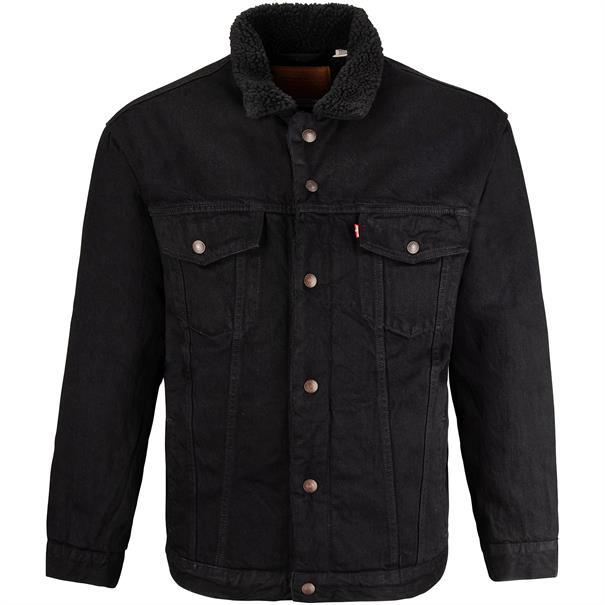 LEVI´S Jeansjacke schwarz