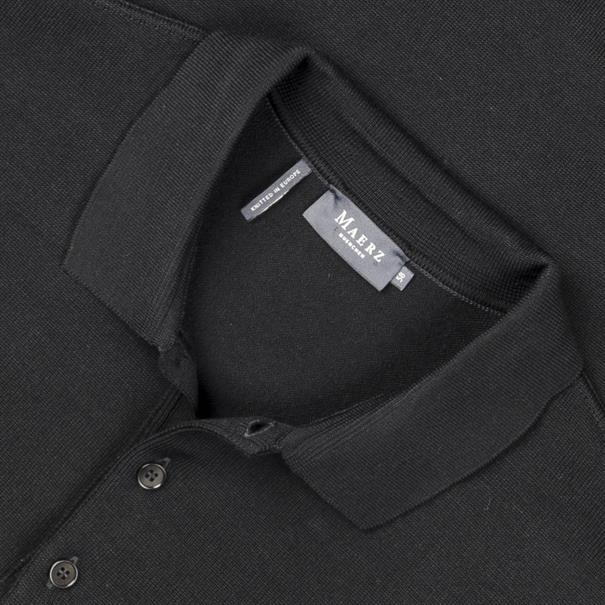 MAERZ Polo-Pullover Gr. 58 - 60 schwarz