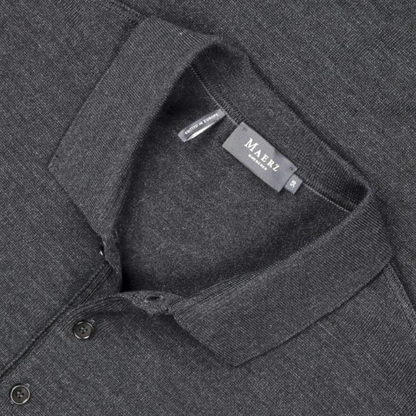MAERZ Polo-Pullover Gr. 62 - 70 anthrazit