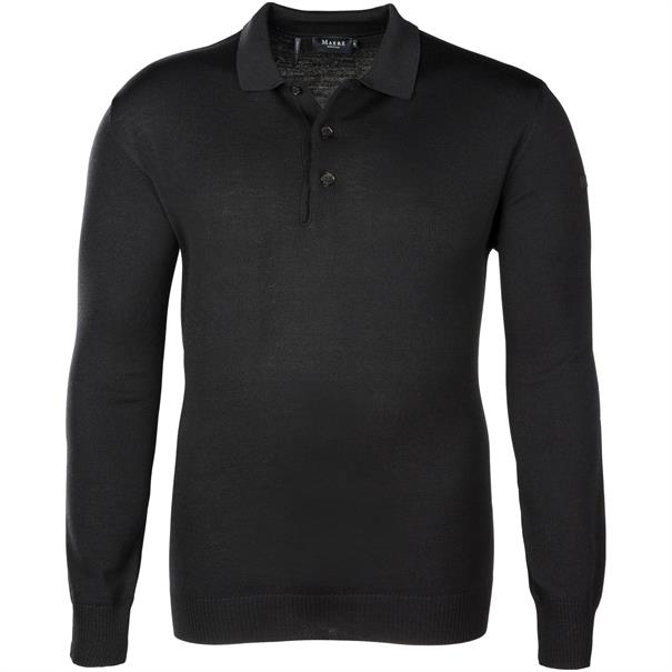 MAERZ Polo-Pullover Gr. 62 - 70 schwarz