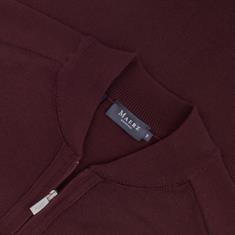 MAERZ Strickjacke Gr. 58 - 60 bordeaux