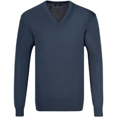 MAERZ V-Pullover ab Gr. 62 blau-meliert