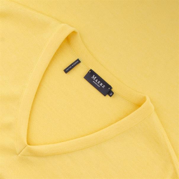 MAERZ V-Pullover ab Gr. 62 gelb