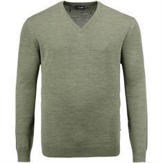 MAERZ V-Pullover ab Gr. 62 grün-meliert