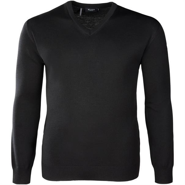 MAERZ V-Pullover ab Gr. 62 schwarz