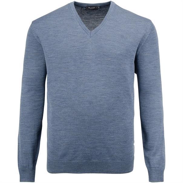 MAERZ V-Pullover Gr. 58 - 60 blau