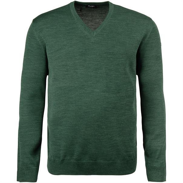 MAERZ V-Pullover Gr. 58 - 60 dunkelgrün