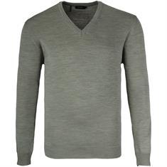 MAERZ V-Pullover Gr. 58 - 60 grün-meliert