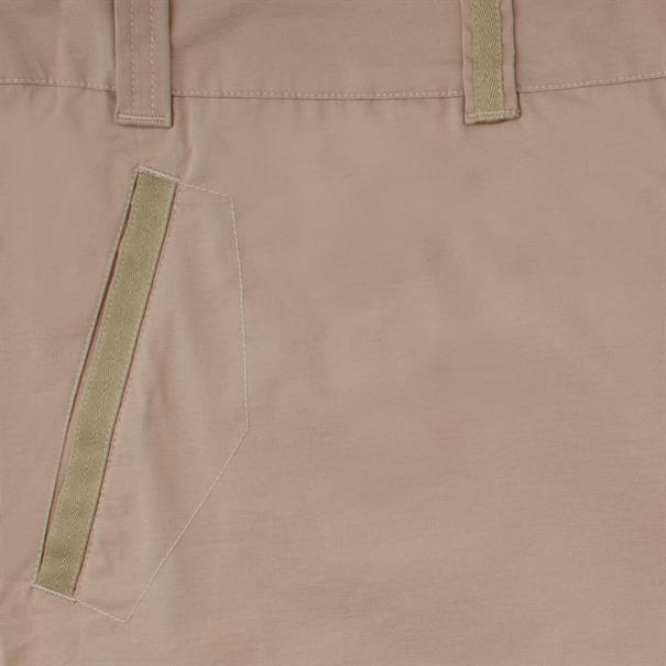 MAIER SPORTS Baumwollhose beige
