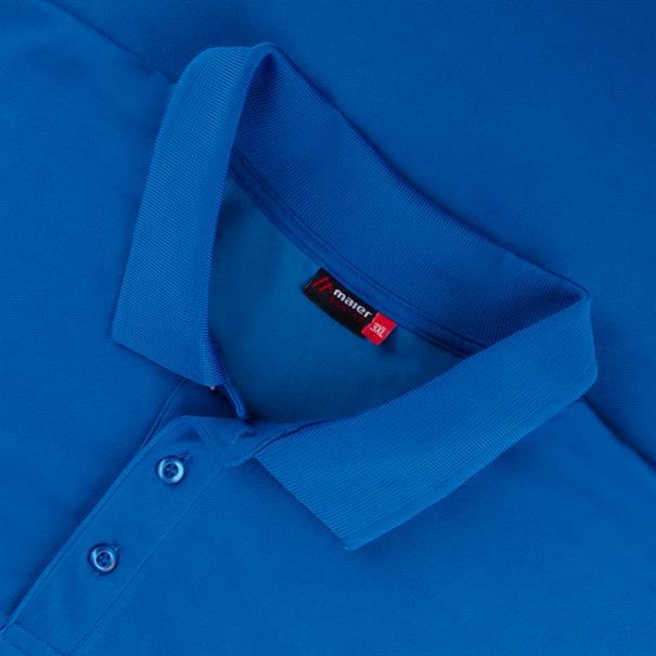MAIER SPORTS Poloshirt royal-blau