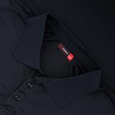 MAIER SPORTS Poloshirt schwarz