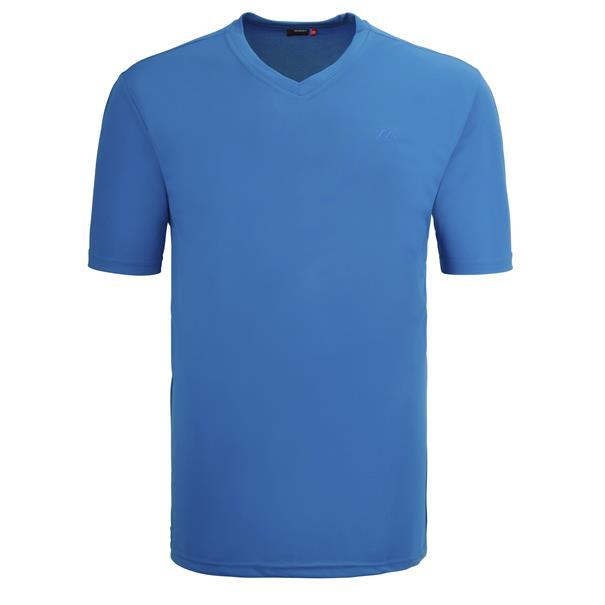MAIER SPORTS T-Shirt blau