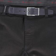 Mens Jeans mit Dehnbund Kurzleibform schwarz