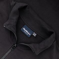NORTH Sweatjacke schwarz