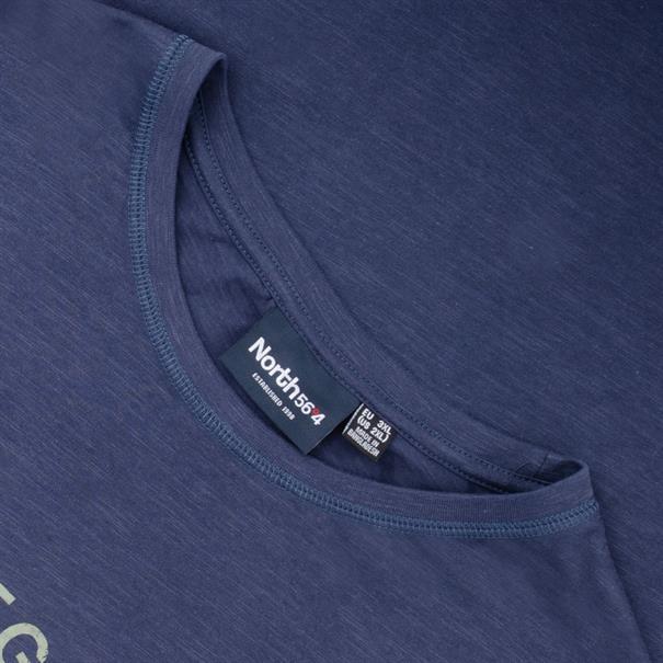 NORTH T-Shirt blau