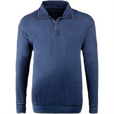 NORTH Troyer-Sweatshirt blau-meliert