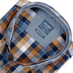 OLYMP Casual Hemd - Modern fit braun