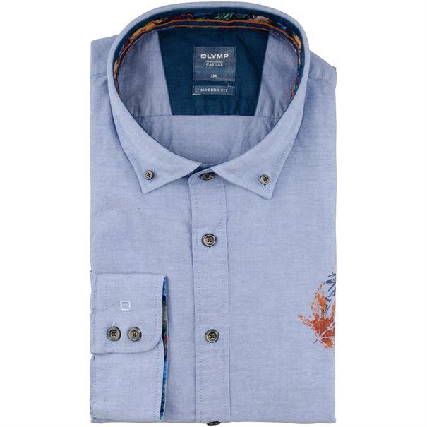 OLYMP Freizeithemd blau