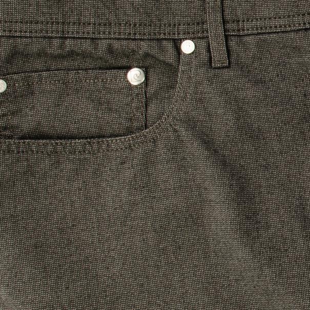 PIERRE CARDIN Baumwollhose grau-meliert