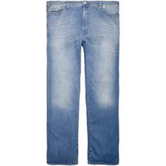 PIERRE CARDIN Jeans blau-meliert