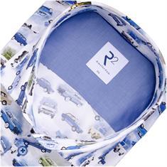 R2 Freizeithemd blau