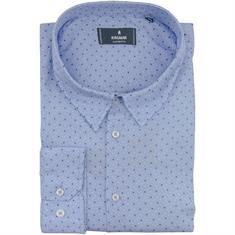 RAGMAN Freizeithemd blau