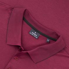 RAGMAN langarm Poloshirt bordeaux