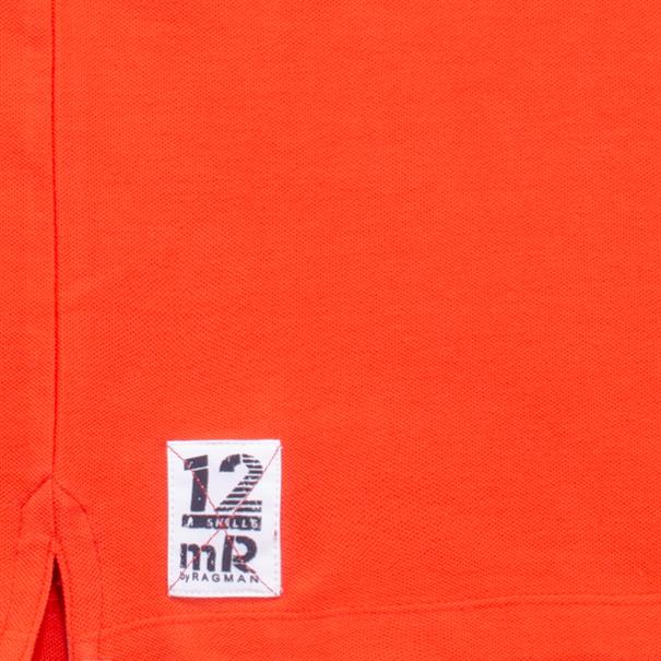 RAGMAN Poloshirt orange
